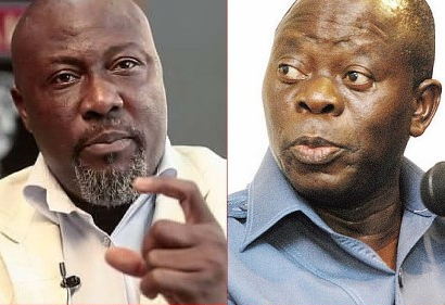 Oshiomhole Comes HARD For Dino Melaye After He Calls Him Out For Marrying A Foreigner