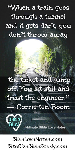 Trusting God as the Engineer of our Lives