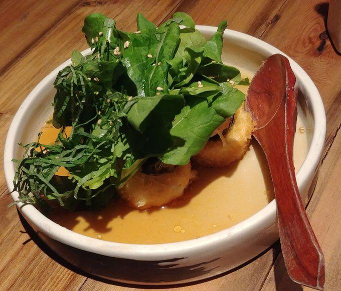 Agedashi tofu at Ooma Japanese Restaurant