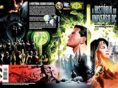 história universo dc