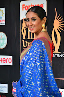Priya Shree in Beautiful Blue Saree at IIFA Utsavam Awards 2017  Day 2    HD Exclusive Pics 07.JPG