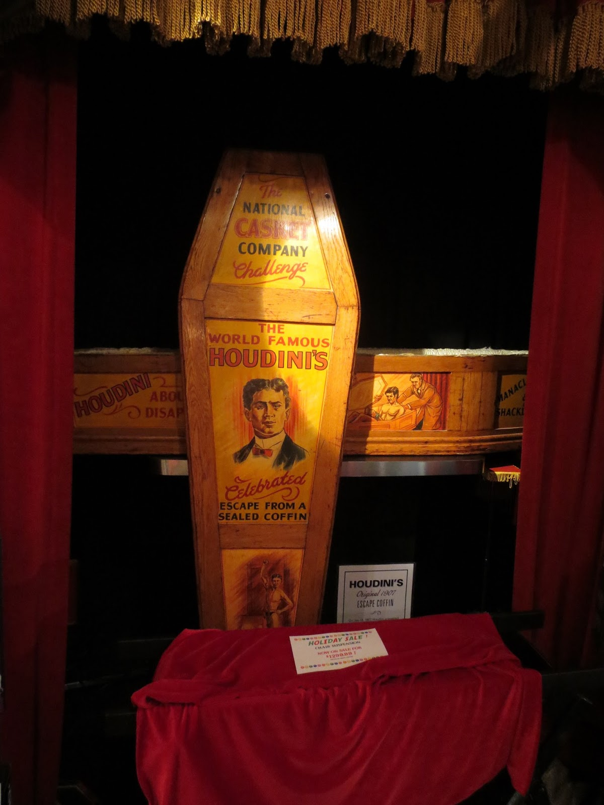 Corner Exhibition Stands Out : Wild about harry guest the houdini museum of new