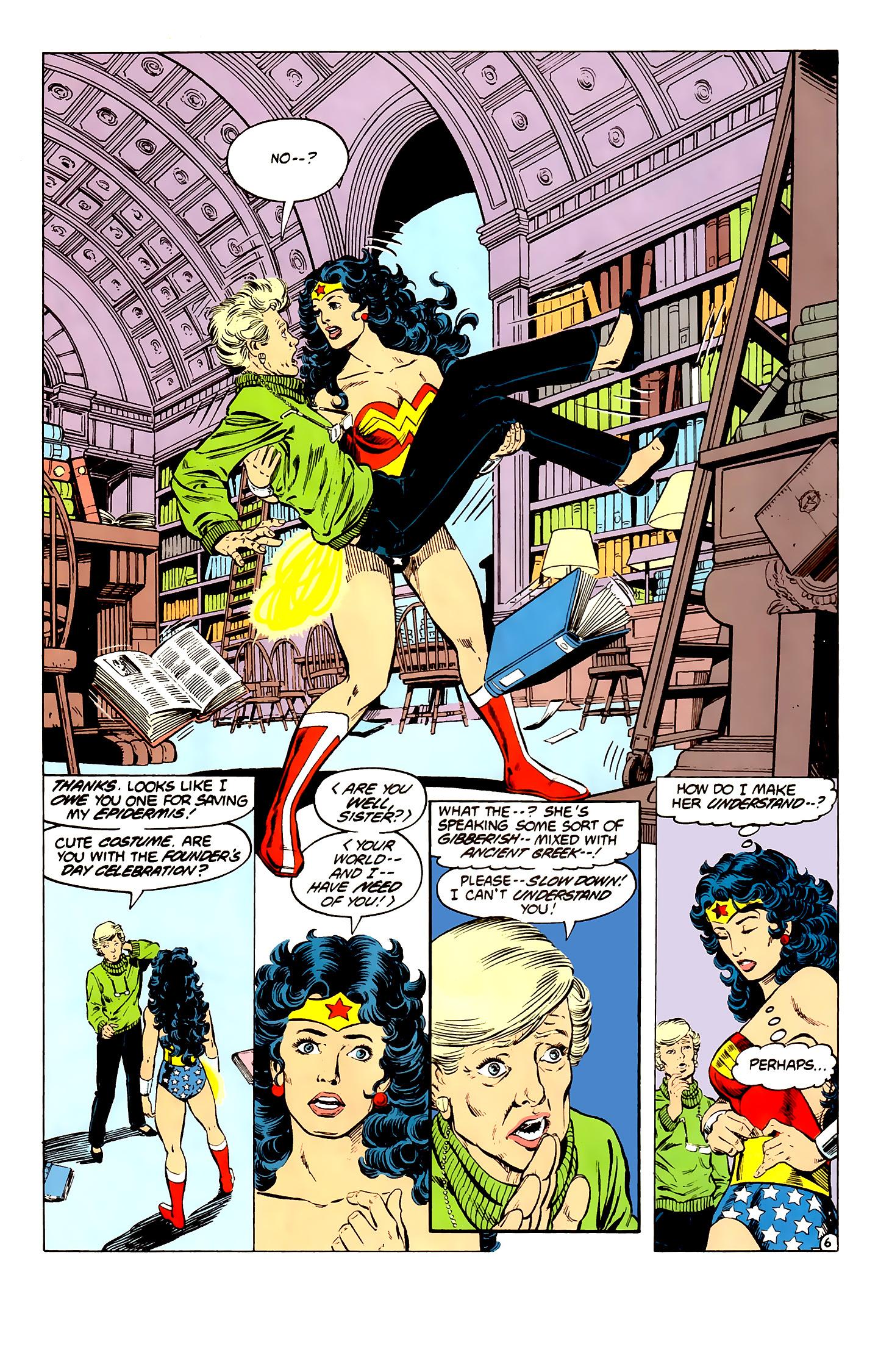 Read online Wonder Woman (1987) comic -  Issue #3 - 7