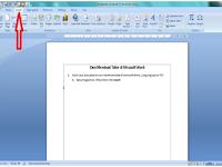 Cara Mudah dan Cepat Membuat Table di Micosoft Word