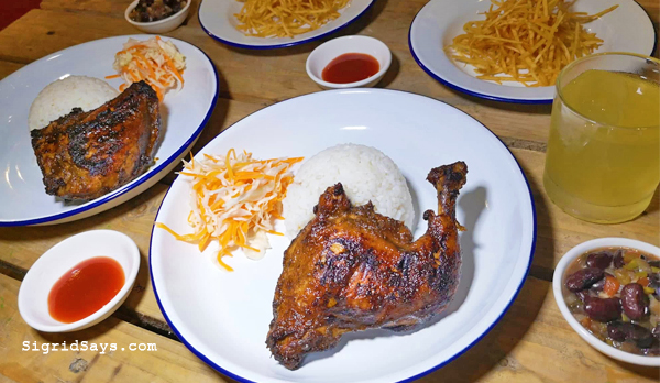 Bacolod restaurants - Jamaican food - Jamaican cuisine - jerk chicken - Bacolod Jerk Chicken