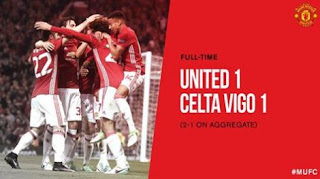 Manchester United vs Celta Vigo 1-1 Video Gol & Highlights