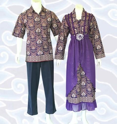 10 Model Baju Batik Sarimbit Modern Terbaru 2018: 10 Model Gamis Batik Sarimbit Desain Terbaru 2020