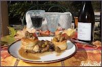 Recette d'automne : veau aux olives et champignons