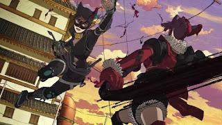 Batman Ninja - Catwoman and Harley Quinn