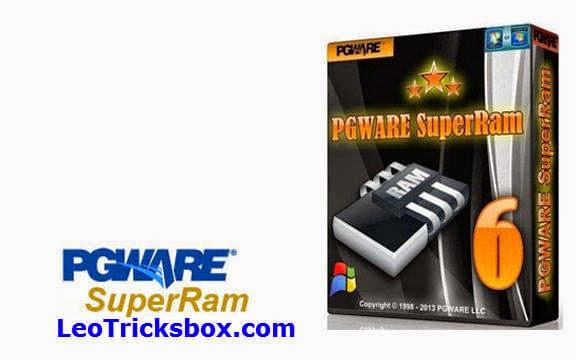 PC Software : PGWARE SuperRam 6.5.5.2014 + Patch + Keygen 1