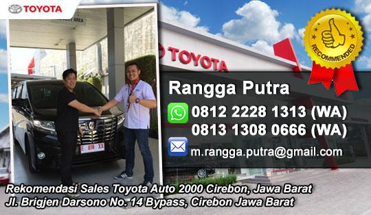 Rekomendasi Sales Toyota Cirebon