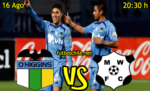 Ver stream hd youtube facebook movil android ios iphone table ipad windows mac linux resultado en vivo, online: O'Higgins vs Montevideo Wanderers