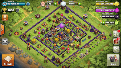 Clash Of Clans Full MOD v7.200.12 APK (Unlimited Gems, Gold, Elixer)
