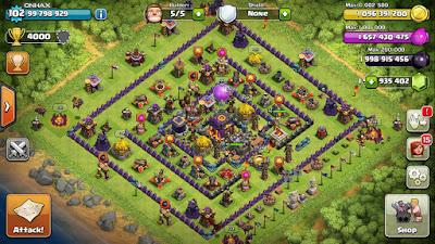Clash Of Clans Full MOD v7.200.12 APK (Unlimited Gems, Gold, Elixer)