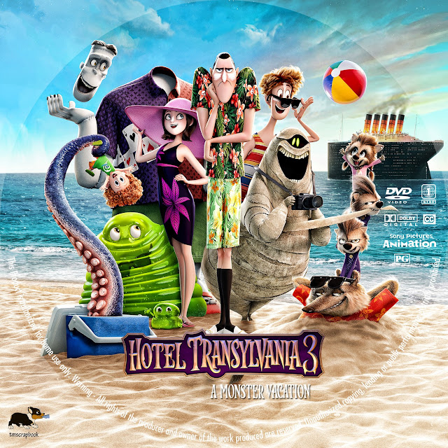 Hotel Transylvania 3: Summer Vacation DVD
