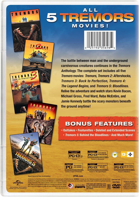 tremors  dvd tremors  anthology