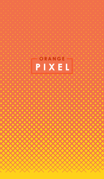 Orange in Pixel