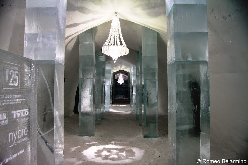 ICEHOTEL Pillar Hall Sweden