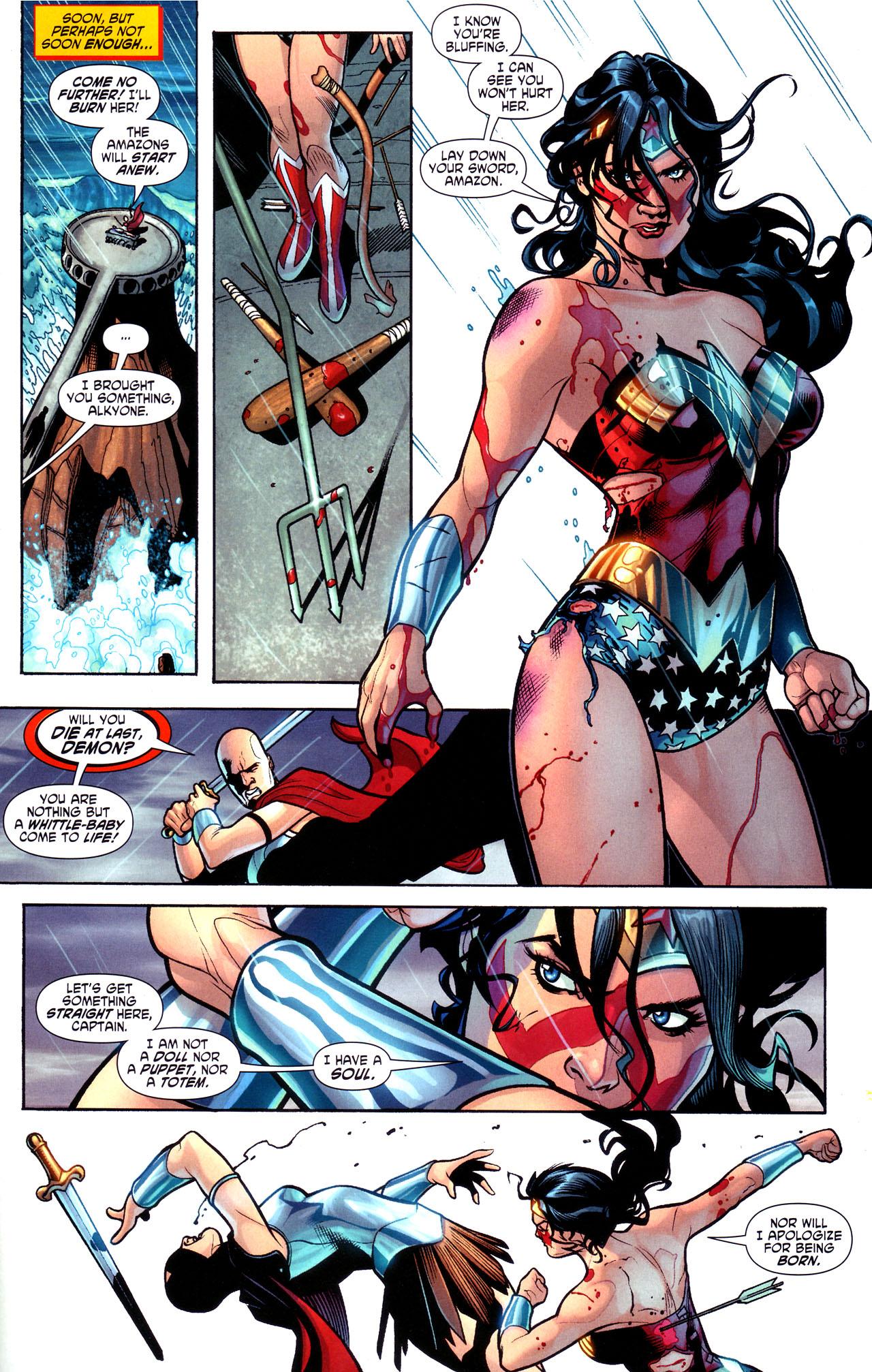 Read online Wonder Woman (2006) comic -  Issue #17 - 19