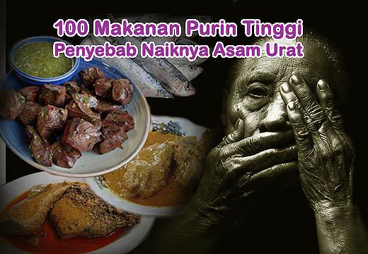 Lanjutan dari Daftar 100 makanan berpurin tinggi