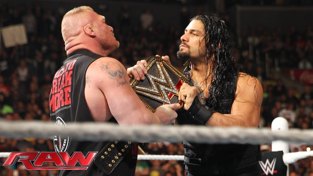 roman reigns vs brock lesnar