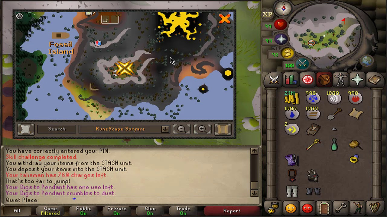 master clue requirements