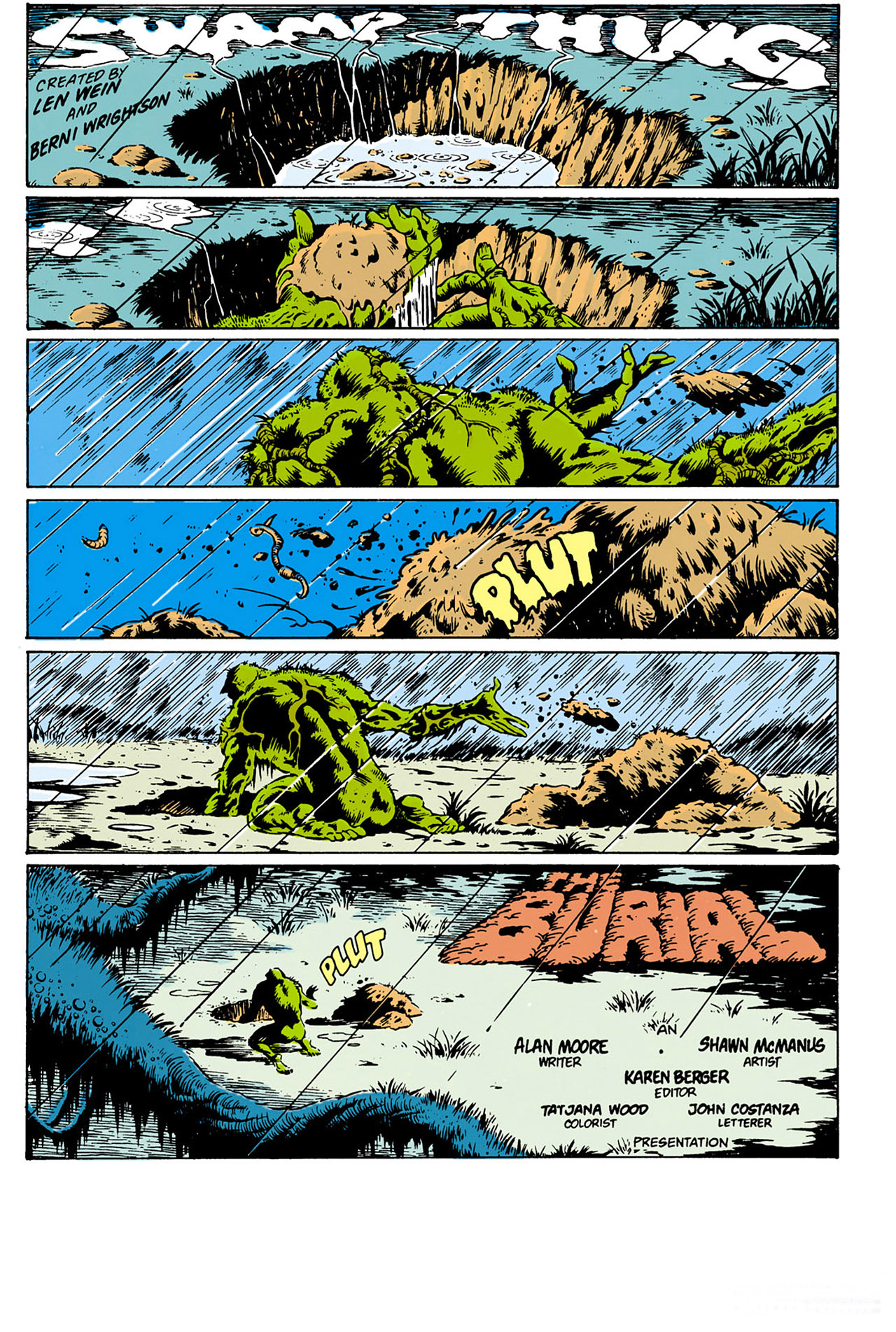 Swamp Thing (1982) Issue #28 #36 - English 2