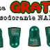 Consigue GRATIS el desodorante NARTA