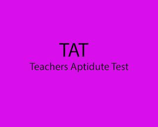 Gujarat state Examination Board (GSEB) TAT