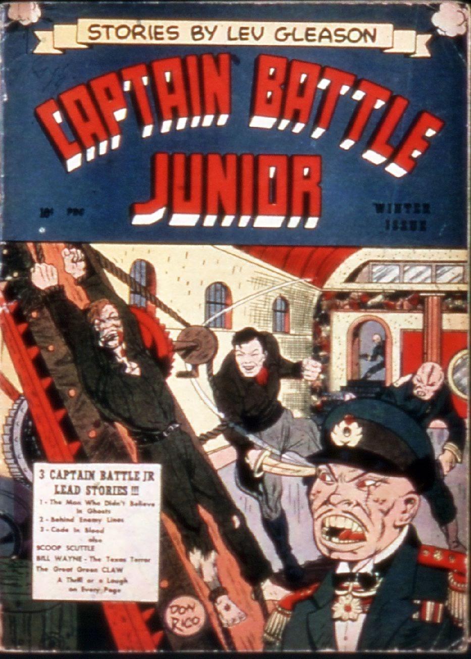 Captain Battle, Jr. 2 Page 1