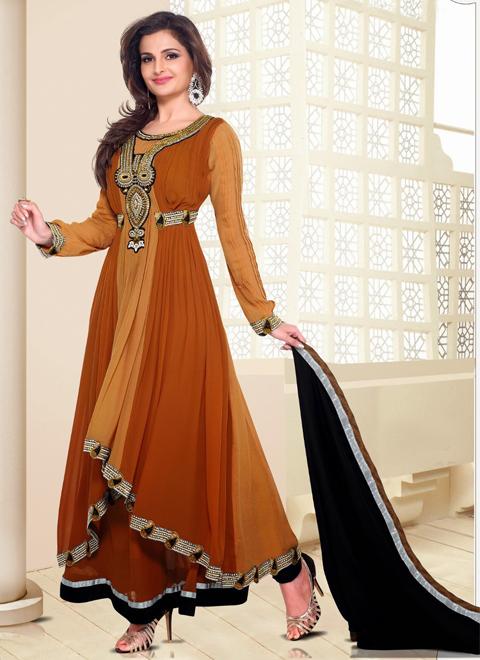 contoh baju gamis india modern