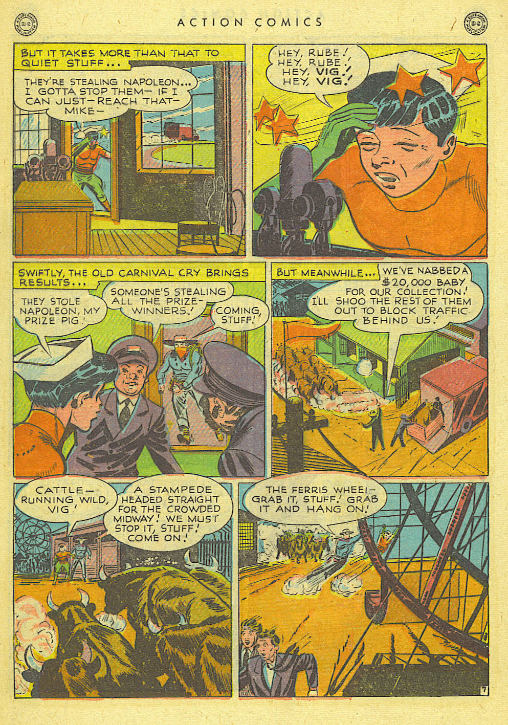Read online Action Comics (1938) comic -  Issue #118 - 38