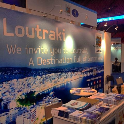 Loutraki promotion in Stockholm