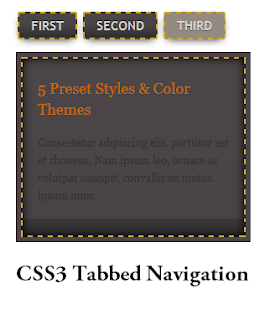 social buttons or whatsoever code to private buttons Beautiful CSS3 Tabbed Navigation for Blogger