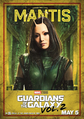 Mantis Guardians of the Galaxy Vol 2 character poster