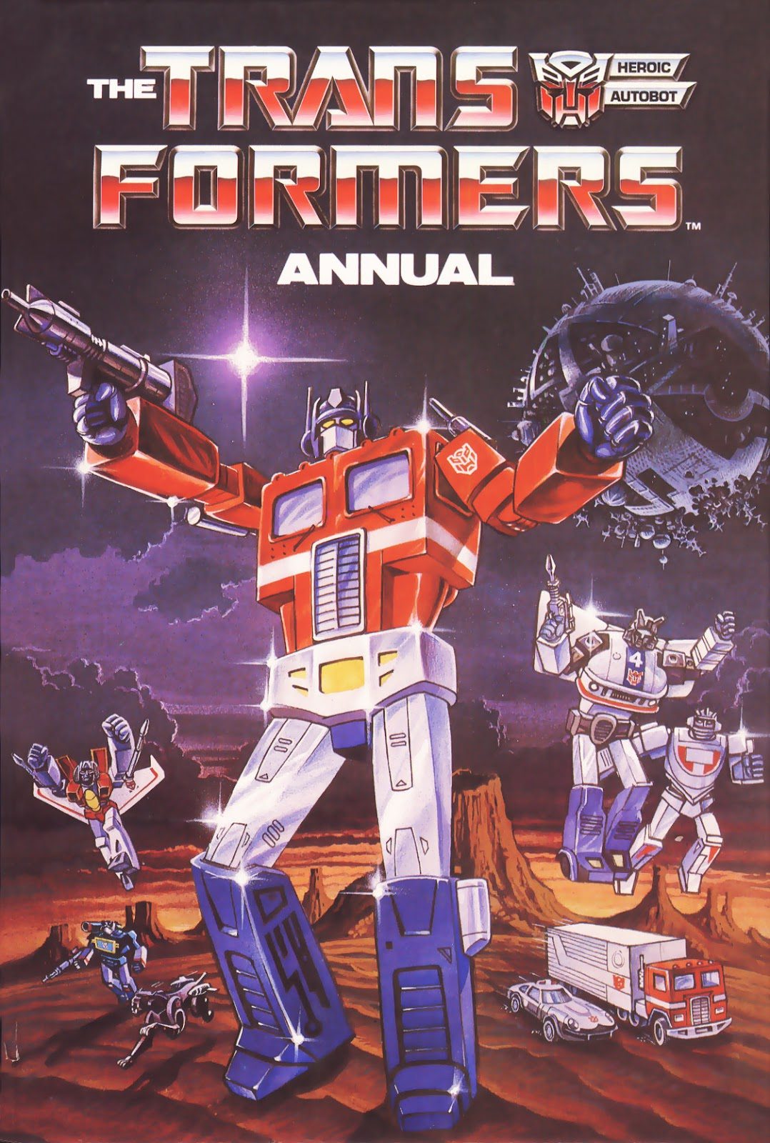 The Transformers Annual 1986 Page 1