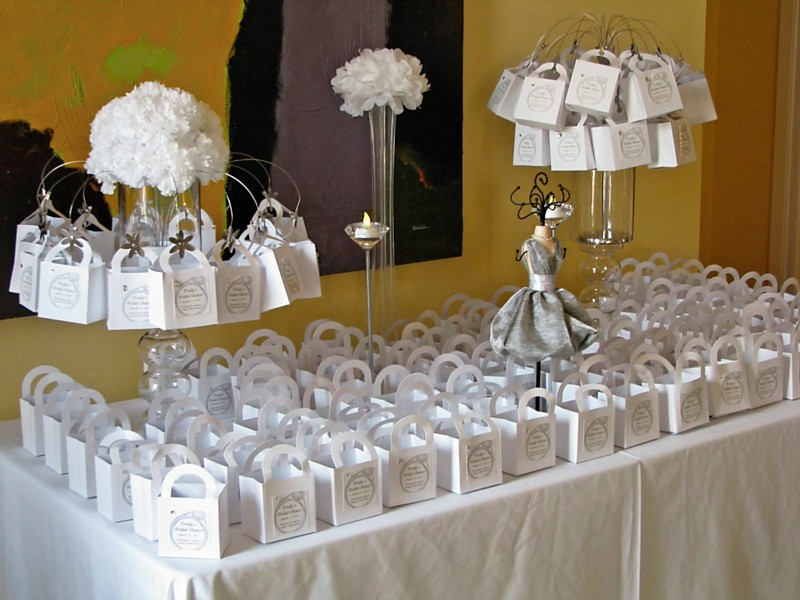 For All Things Creative All White Bridal Shower From Reader