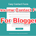 Blog Me Awesome Contact Form Page Kaise Banaye