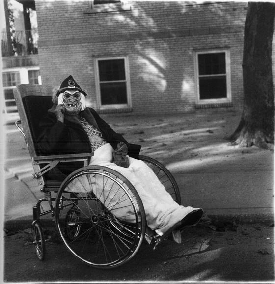 Black  White Square Portrait Photographs by Diane Arbus 1  vintage everyday