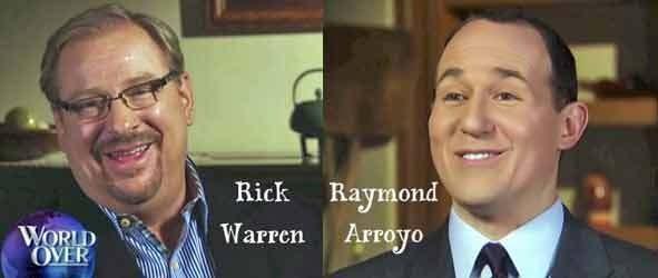 Rick Warren w katolickiej telewizji EWTN.
