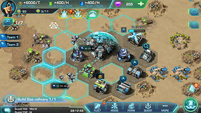 Galaxy fleet: Alliance war (Free Strategy) Mod Apk Terbaru