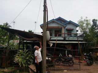 Lampu Jalan Desa Penyandingan Rusak