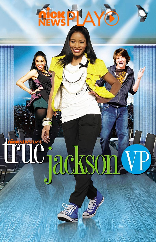 True Jackson Pôster (FOTO: Reprodução/Nick News)