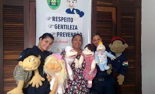 Guarda Municipal de Várzea Grande (MT) inicia projeto educativo 'Teatro de Fantoches' em escolas municipais no dia 06