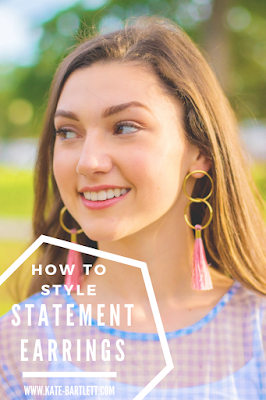 How to style statement earrings for Spring