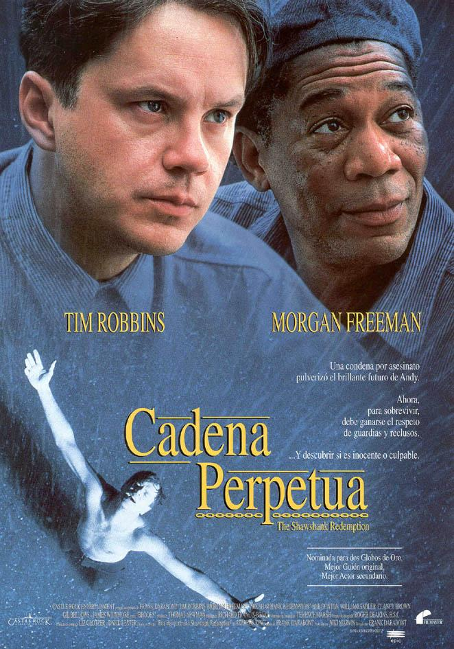 Ver Descargar Cadena perpetua 1994 HD 4k Castellano English