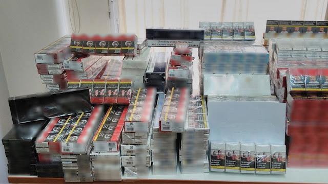 Σε σπίτι στο Άργος η αστυνομία εντόπισε χιλιάδες πακέτα τσιγάρων