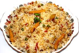 Mutton & Vegetable Biryani