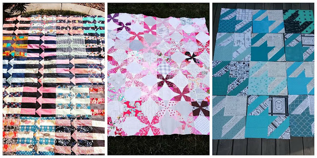Quilting Bee, Bee Blocks, free blocks, quilt top, finished top, BOM, Patchwork