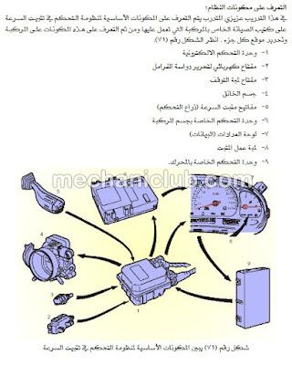 تحميل كتاب صيانة نظام مثبت السرعة في السيارة PDF